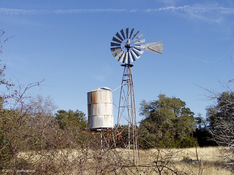 Windmill near Betrram, Texas