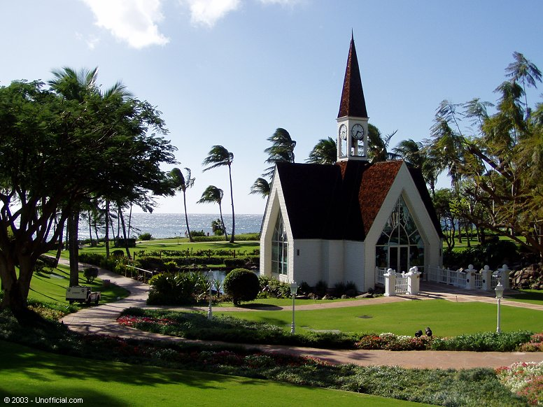 Wedding Chapel at the Grand Wailea Resort in Wailea, Maui, Hawai'i