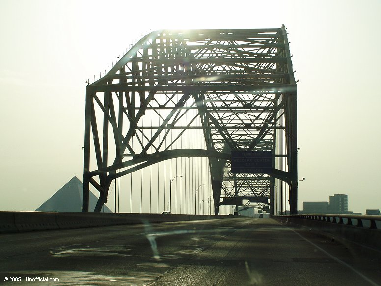 Mississippi River Bridge at Memphis, Tennessee