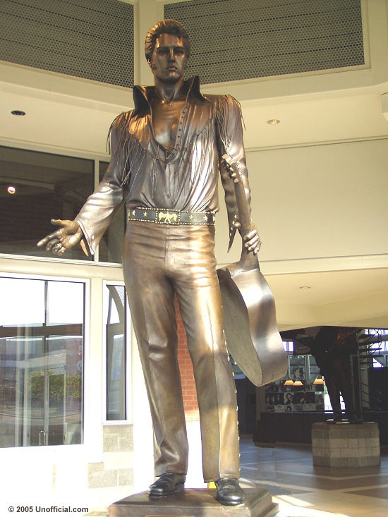 Elvis statue at Jefferson Davis Park, Memphis, Tennessee